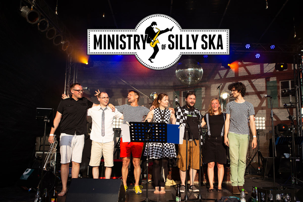 Ministry of Silly Ska copyright Anna Ritter