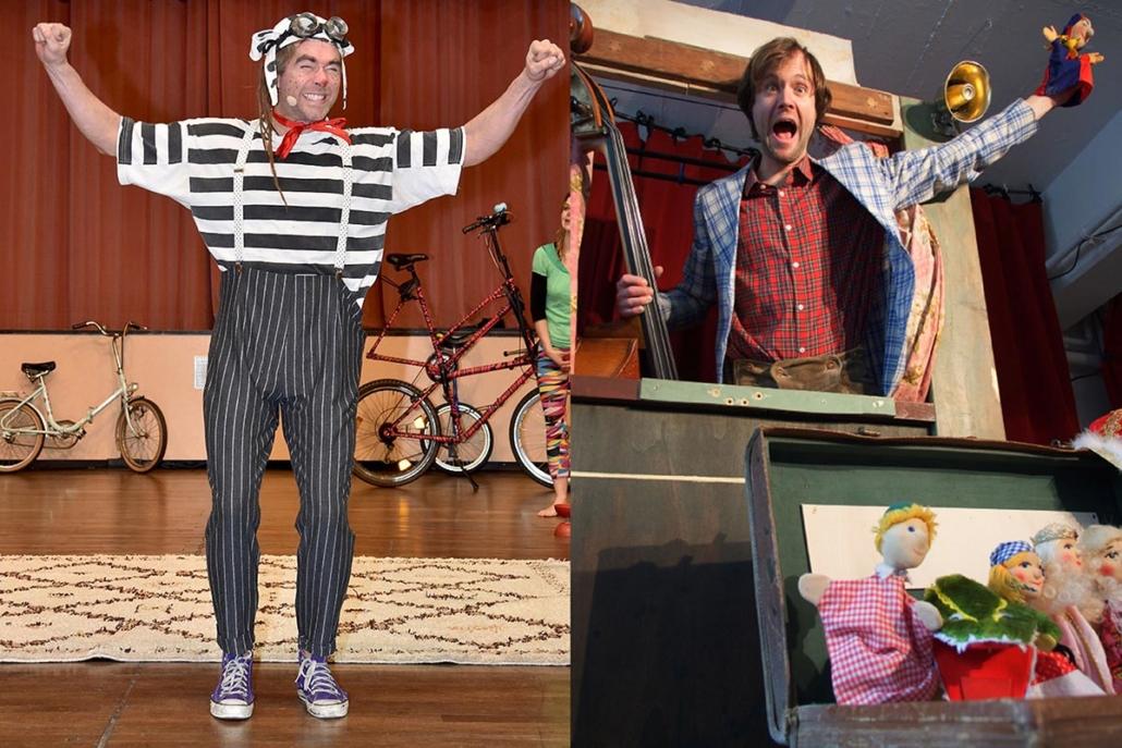 Oscar der Gaukler meets Mister Jazz Puppets Universe